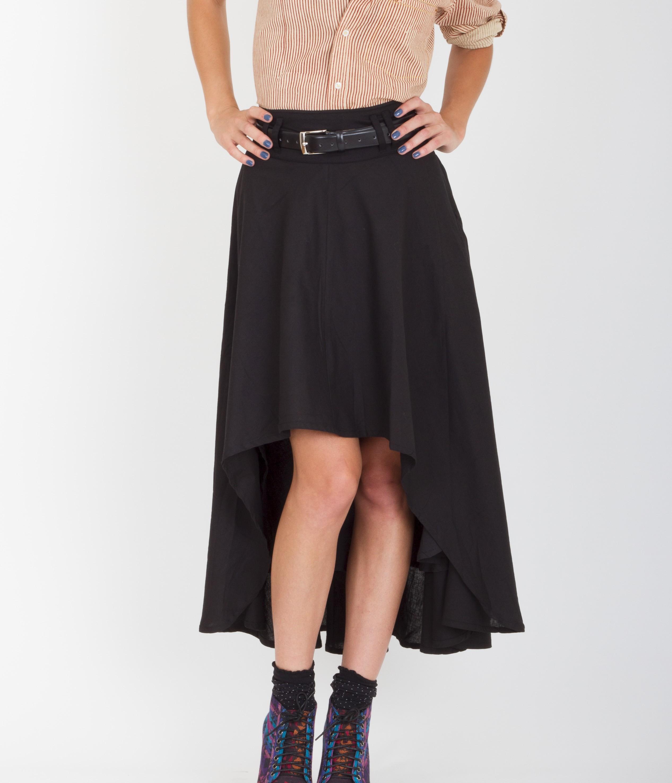 falda de vuelo asimétrica precio regular 78 00 precio especial 35 00 ...