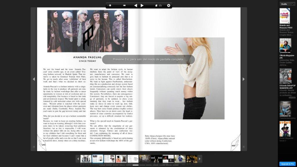 Issue Magazine pagina 1