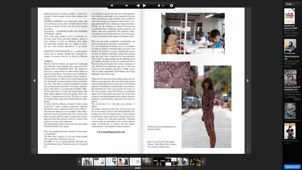Issue Magazine pagina 2